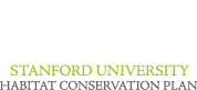 Stanford University Habitat Conservation Plan Home Page